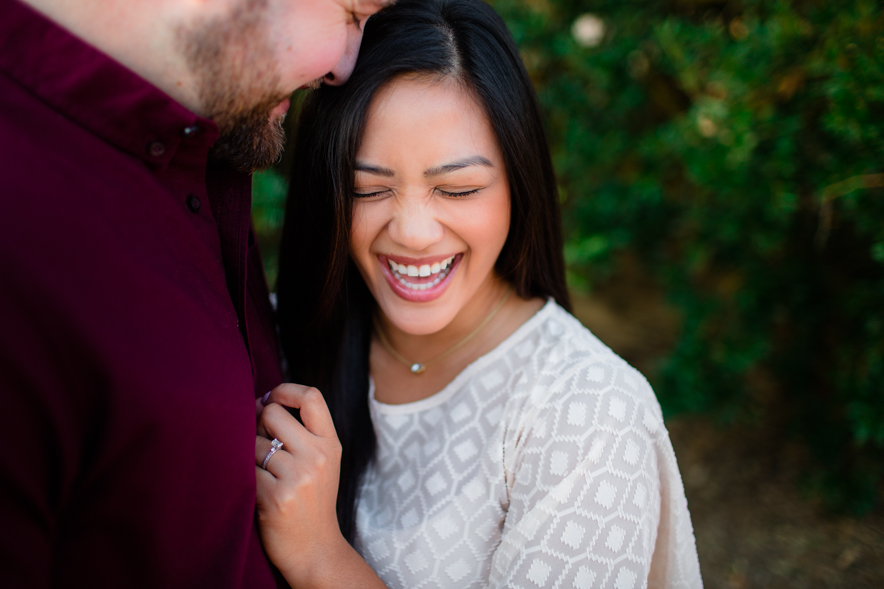 woodward park engagement photo 2