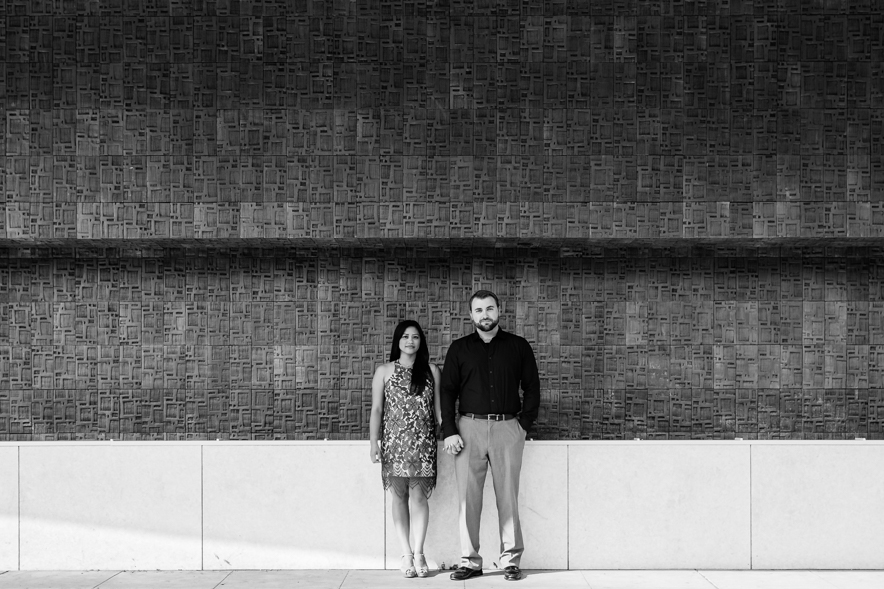 downtown fresno engagement photo 1